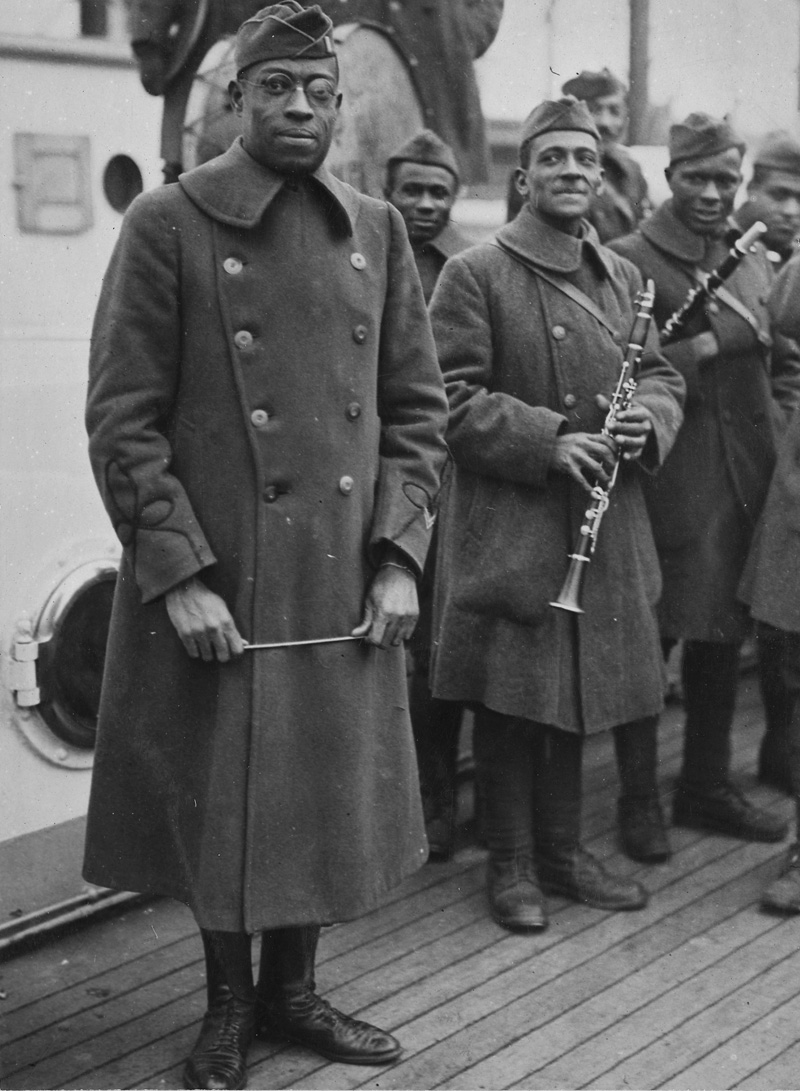 Image result for james reese europe harlem hellfighters