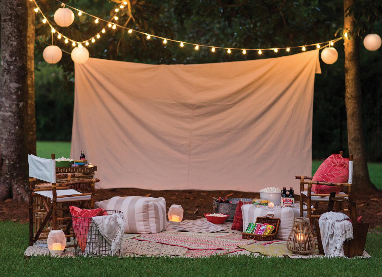 How To Host A Backyard Movie Night